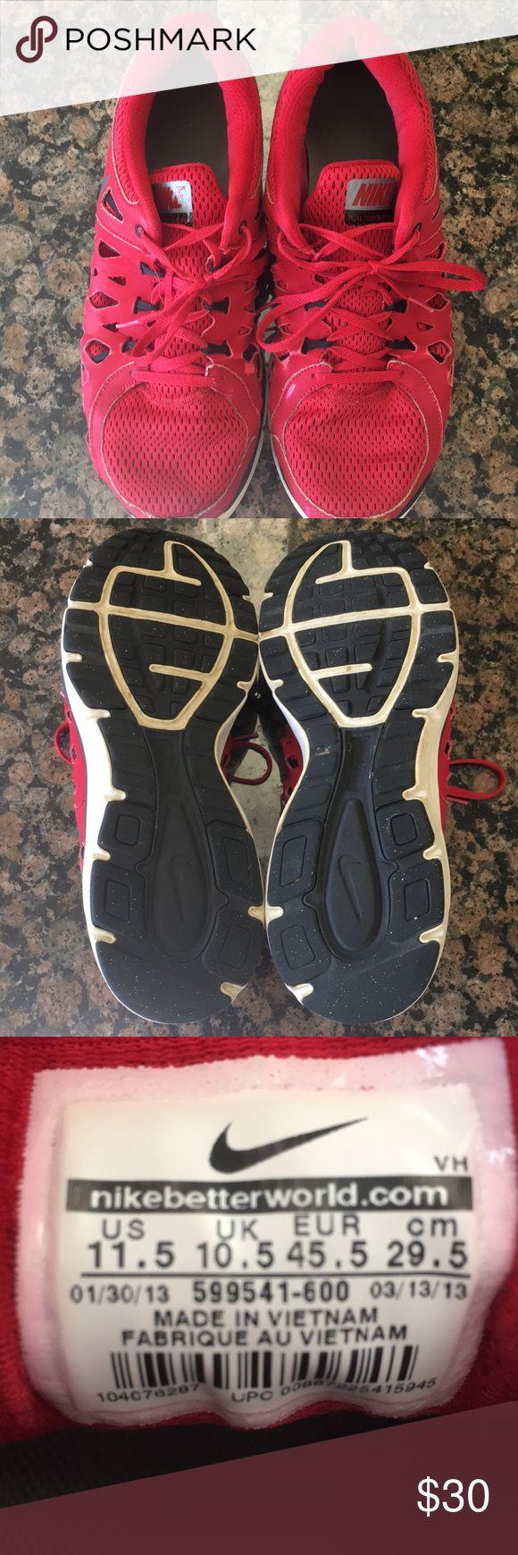 🔥 NIKE DUAL FUSION 2 RUNNING SHOES 🔥 2014 MEN'S 11.5 NIKE DUAL FUSION 2 RUNNING SHOES. Pre owned in pristine shape. Nike Shoes Athletic Shoes