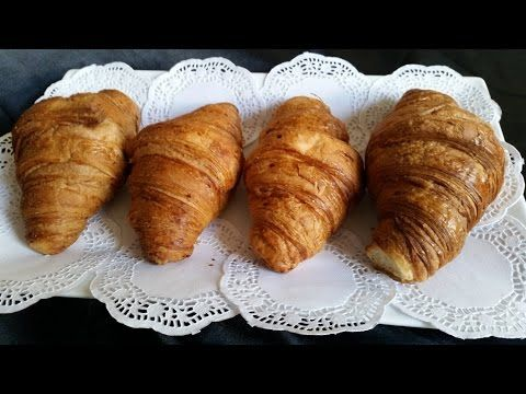 (8) How to make the best butter Croissants - YouTube
