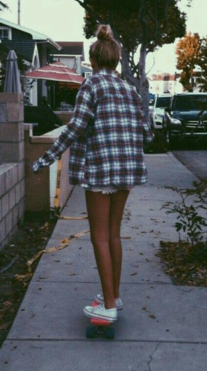 skater girl summer style!!! LOVE!
