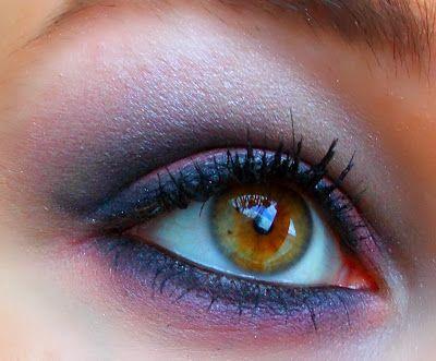 Ooglook: Zachte rokerige ogen