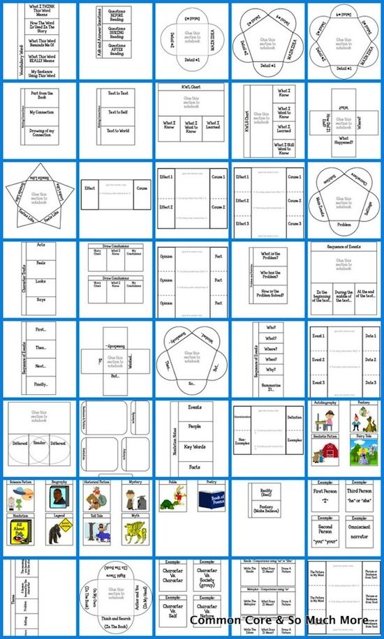 Reading Interactive Notebooks - Learning Lab Resources