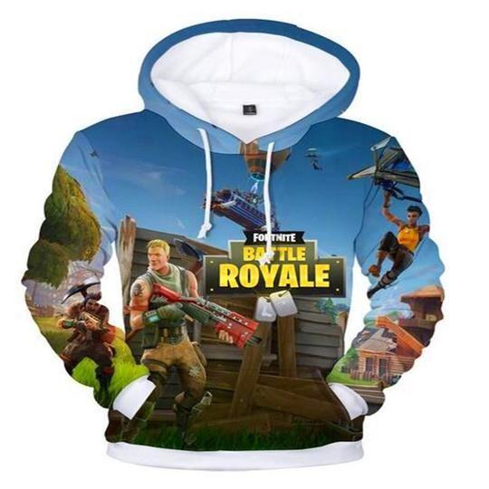 Hoodies & Sweatshirts Top Rank Fortnight Game 3D Battle Royale Men's Women Warm Hoodie Sweatshirt Gift Men's Clothing