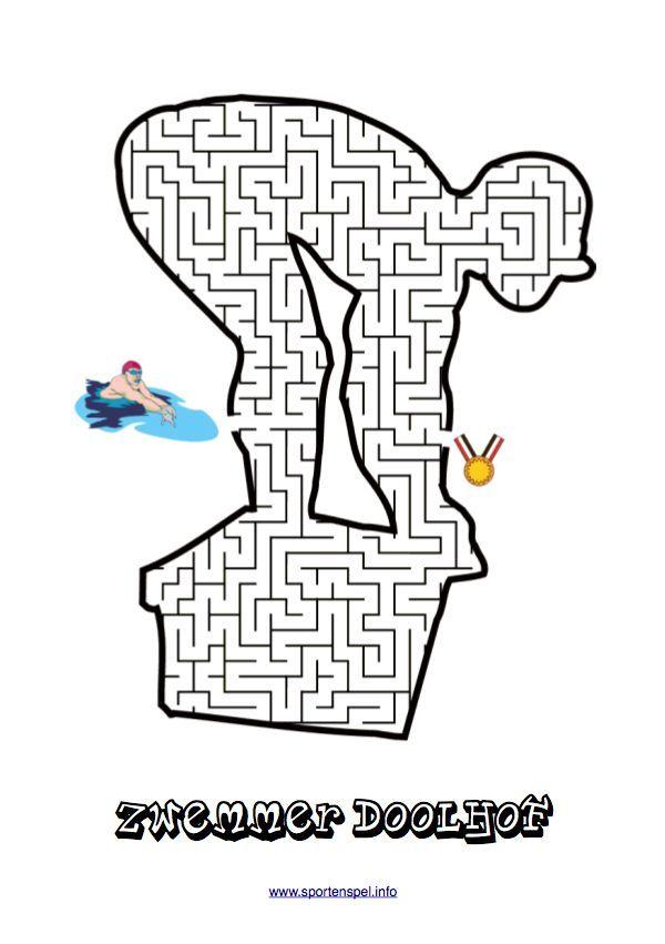 11 best Doolhoven sport en spel voor kinderboekenweek 2013