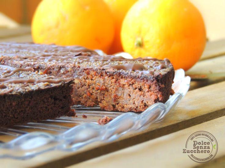 Torta all'Arancia con Glassa (Senza Glutine) è una ricetta Senza Glutine e senza farina: densa, ricca e a basso indice glicemico.