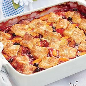 Patchwork Cobbler Recipe | MyRecipes.com