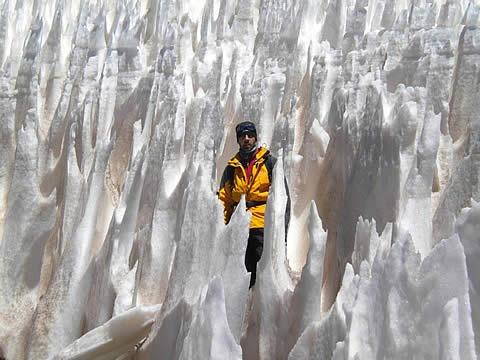 "Monte Pissis"""" el glaciar. Catamarca, Argentina"