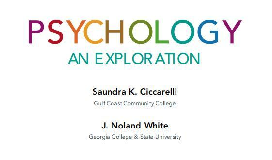 Psychology An Exploration 3rd Edition Pdf Download Pearson