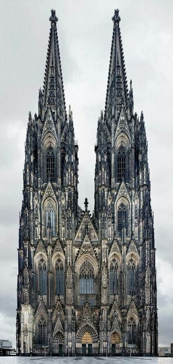 mangofaster: a-moody-moon: Koln Cathedral - Germany heute hat...