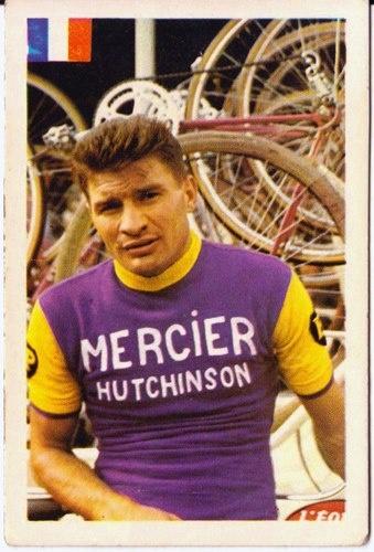 Raymond Poulidor avec mon maillot!