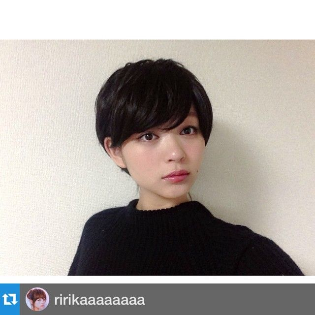 「黒髪だと更におしゃれ♡大人気ショートヘアーまとめ」に含まれるinstagramの画像|MERY[メリー] http://mery.jp/instagram_photos/148811?from=mery_ios