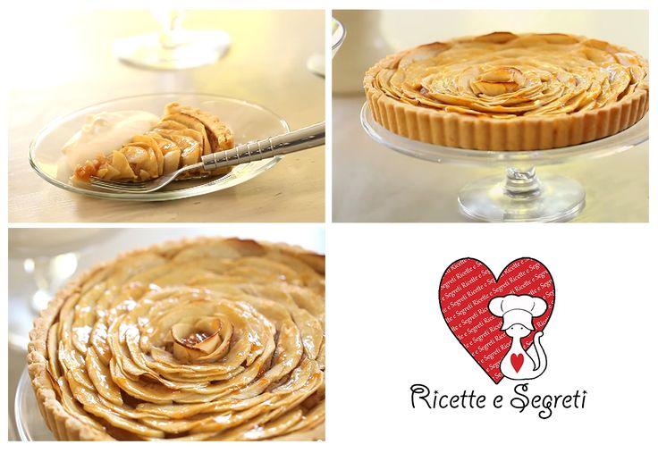 Ricette e Segreti in Cucina : Crostata di mele all'Armagnac