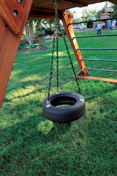 37 best images about under deck ideas on pinterest for Tyre swing ideas