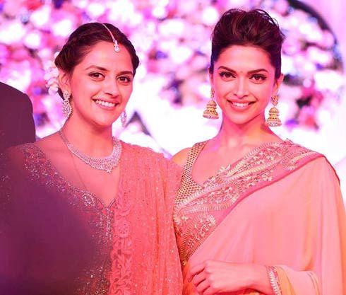 Deepika @ Aahana's Wedding