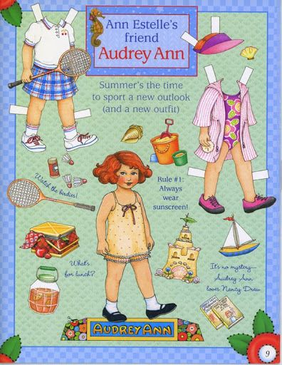 Audrey Paper Doll.This From terikpettit - MaryAnn - Picasa Web Albums