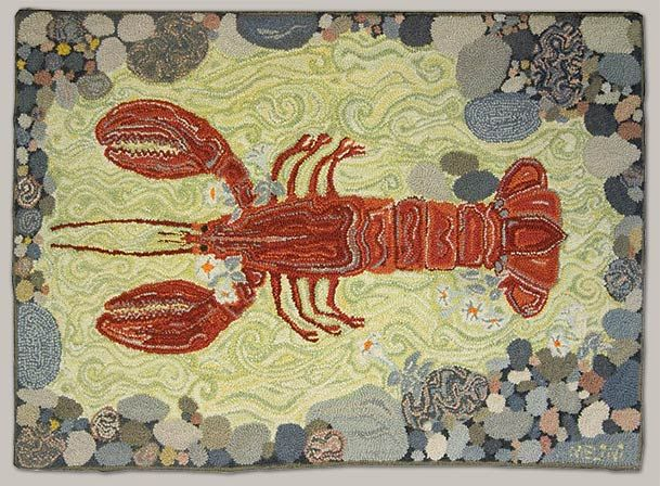 Melina White: Hand Hooked Rugs for Contemporary Homes-Maine Coast Handmade Rugs2