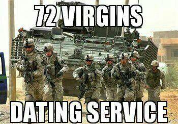 USMC 72 Virgins dating service Hoe weet je of je dating de verkeerde man