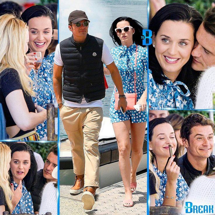 #KatyPerry y #OrlandoBloom pasándosela rico en #Cannes  A la parejita se les vió disfrutar, ayer Martes (17/05) de un almuerzo al aire libre, el cual compartieron con su amiga, la actriz #KateHudson