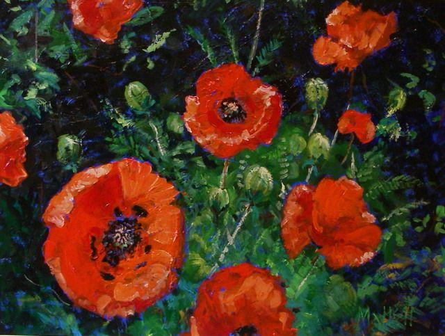Timmy Mallett - Interests - Painting - Poppies 4