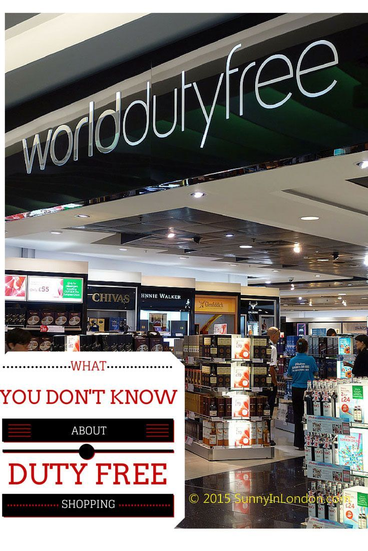 Have an international flight soon? Then you can't afford to miss these duty free shopping tips from Heathrow Airport in London.