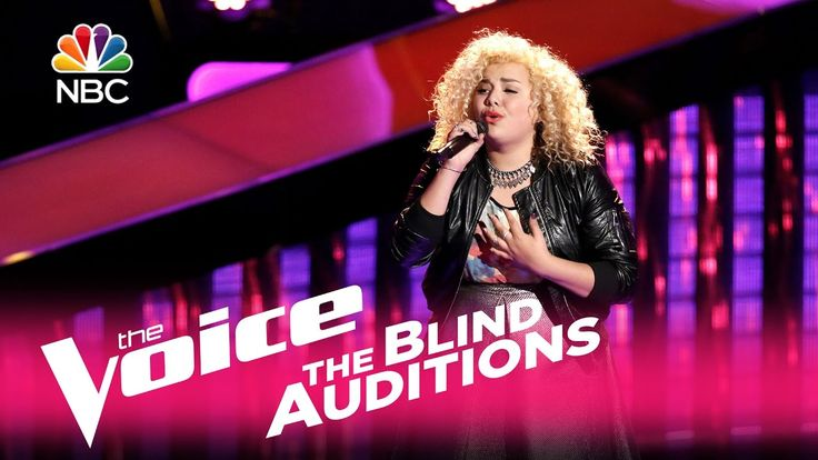 "The Voice 2017 Blind Audition - Aaliyah Rose: ""Rise Up"""