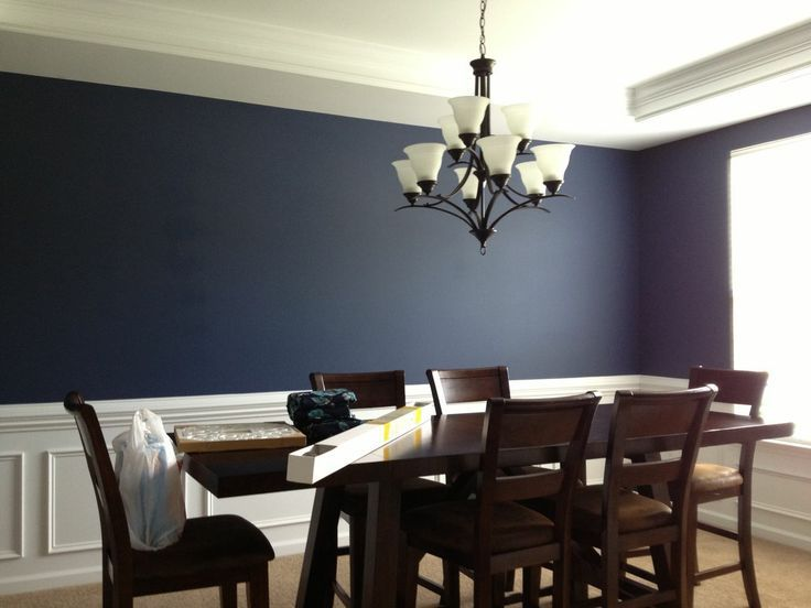 Sherwin williams naval sherwin williams naval why do for Navy blue dining room ideas