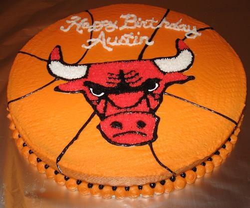 Chicago Bulls Cakes