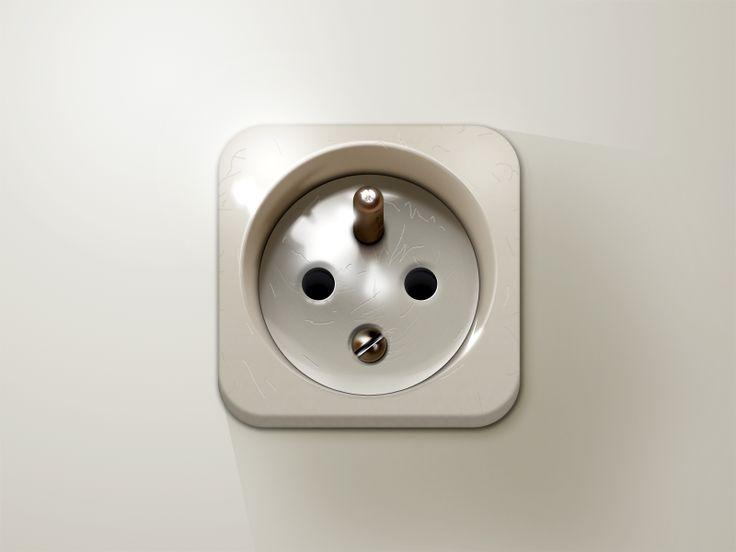 Old Power Socket iOS icon