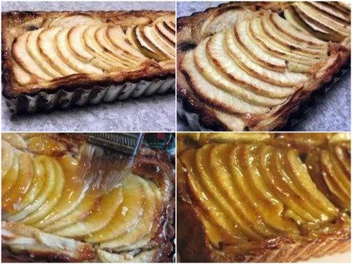 Apple Walnut Tart With Fig Glaze Recipes — Dishmaps