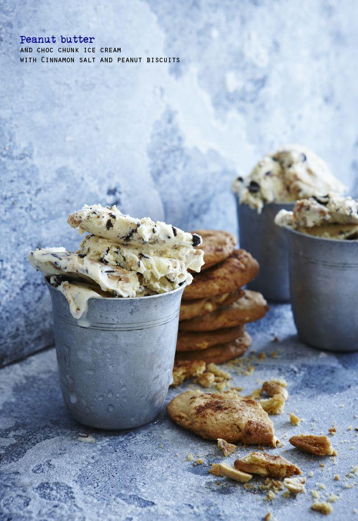 Peanut Biscuits, Choc Chunk, Chocolates Chunk, Chunk Ice, Cinnamon ...