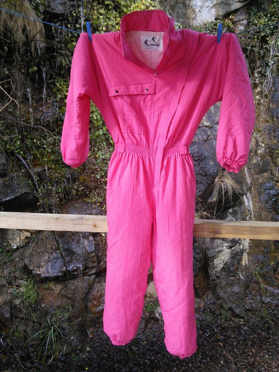 Free Post Ski Clothing Ski Suit French One by FromParisToProvence