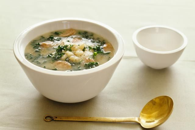 This potato and sausage soup is similar to the great tasting Toscana soup served at the Olive Garden. Add a salad and crusty rolls for a delicious meal.