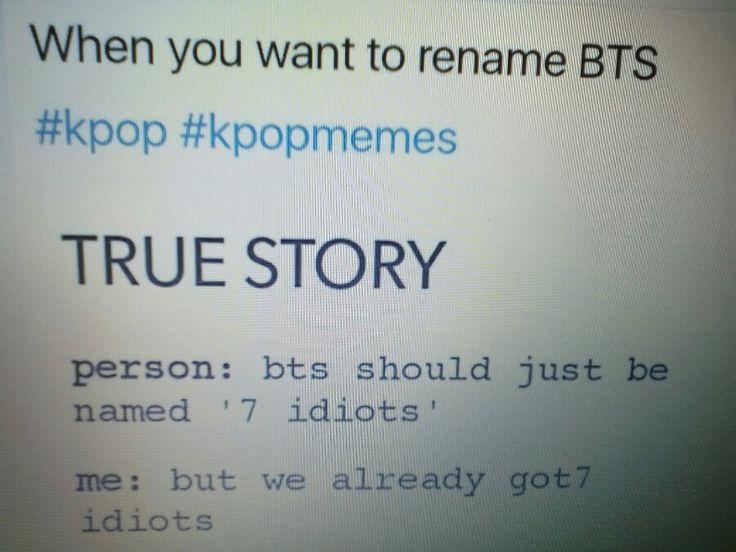 True story BTS and Got7