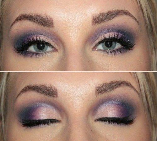 Want to do this smoky purple look!: Eye Makeup, Mary Kay, Eye Shadows, Eyeshadows, Eyemakeup, Wedding Makeup, Smokey Eye, Green Eye, Purple Eye