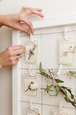 diy botanical escort cards diy wedding place cards holder