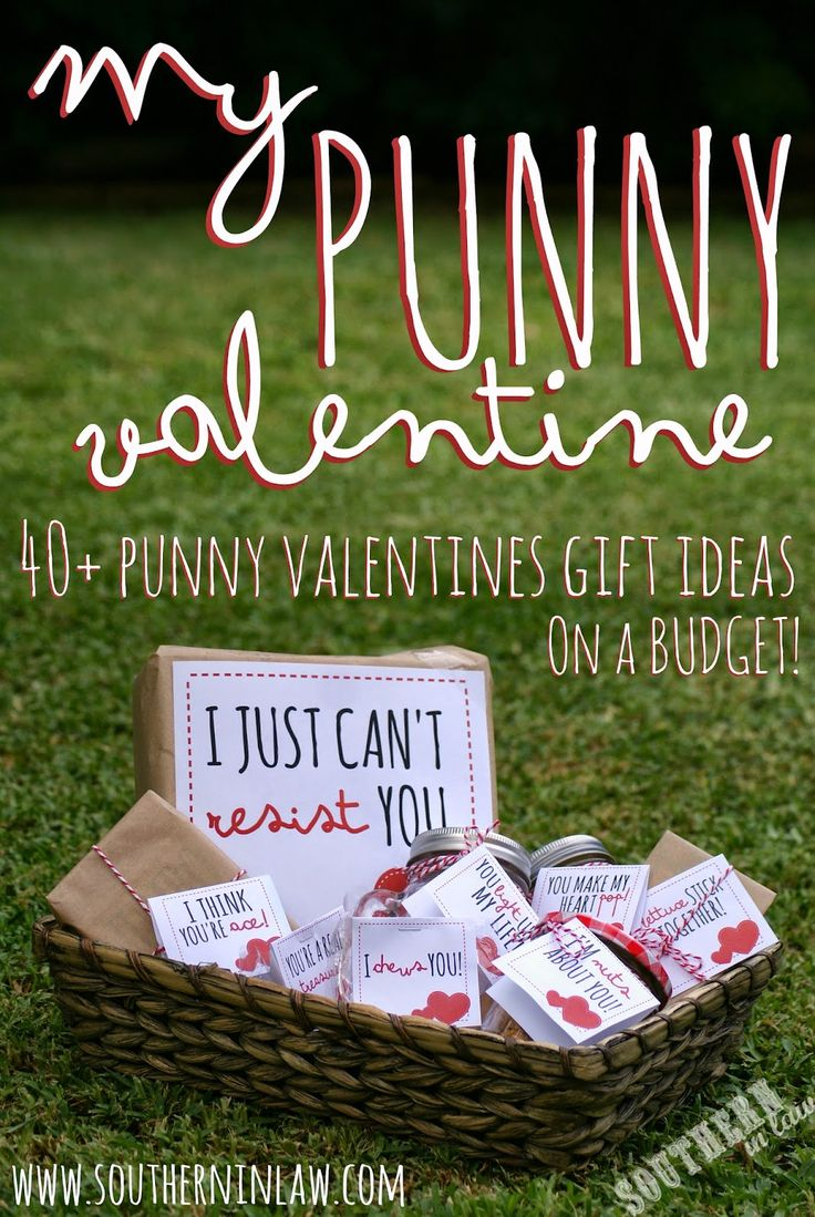 We have 40+ Punny Valentines Gift Ideas PLUS Free Printable Gift Tags to help you put together the best Valentines Gifts ever! Budget friendly with gift ideas for everyone (including non-food Valentines Gift Ideas!)