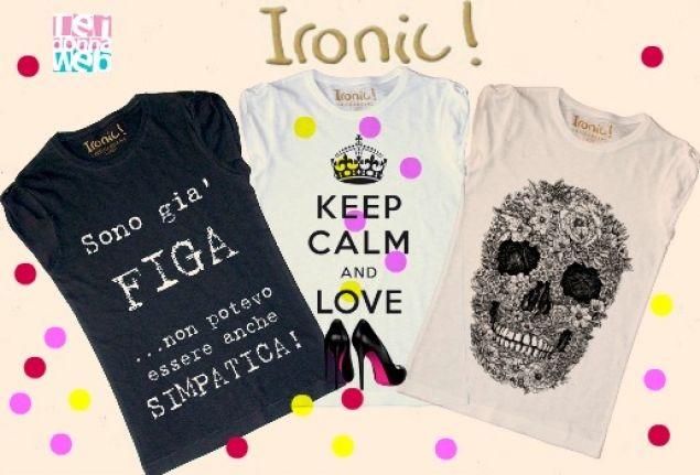 #Ironic, allegria e ironia nelle tue t-shirt [FOTO e RECENSIONE] @ironic
