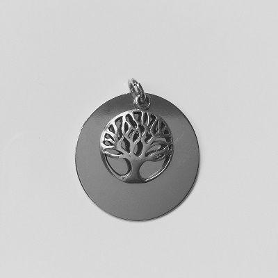 Přívěsek, 22mm - strom života 12,5mm