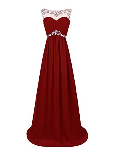 Dresstells® Long Chiffon Prom Dress with Beadings Wedding Dress Maxi Dress Evening Party Wear Dresstells http://www.amazon.co.uk/dp/B00OHGKMC4/ref=cm_sw_r_pi_dp_mspDvb0P326MK