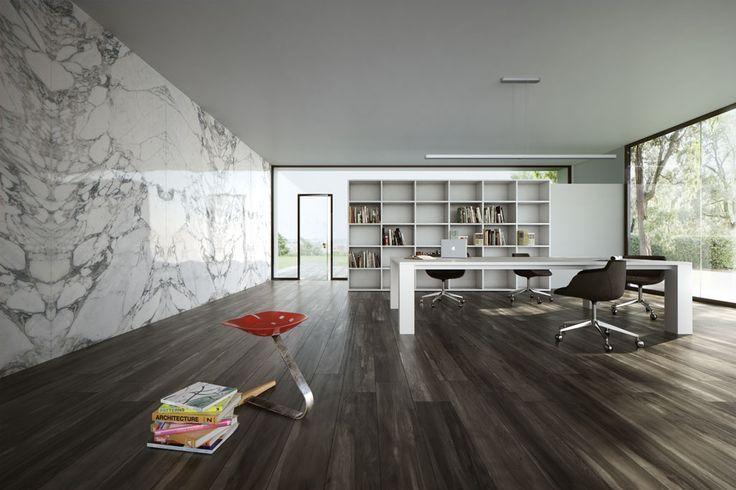 ULTRA MARMI (by Ariostea)  Táto séria predstavuje úplne nový pohľad na využitie mramoru v architektúre. Malá hrúbka a svetlé farby tohto ušľachtilého materiálu prinášajú nové možnosti designu. Zladia sa s každým priestorom a to v kúpeľni, kuchyni či hale. Je mrazuvzdorná a protišmyková. Využitím svetelných pásov silného svetla pod touto dlažbou, ktoré skrz neho presvitá, premeníte všedný vzhľad na niečo neobyčajné.  http://www.maag.sk/produkt/3-5-mm/ultra-marmi/