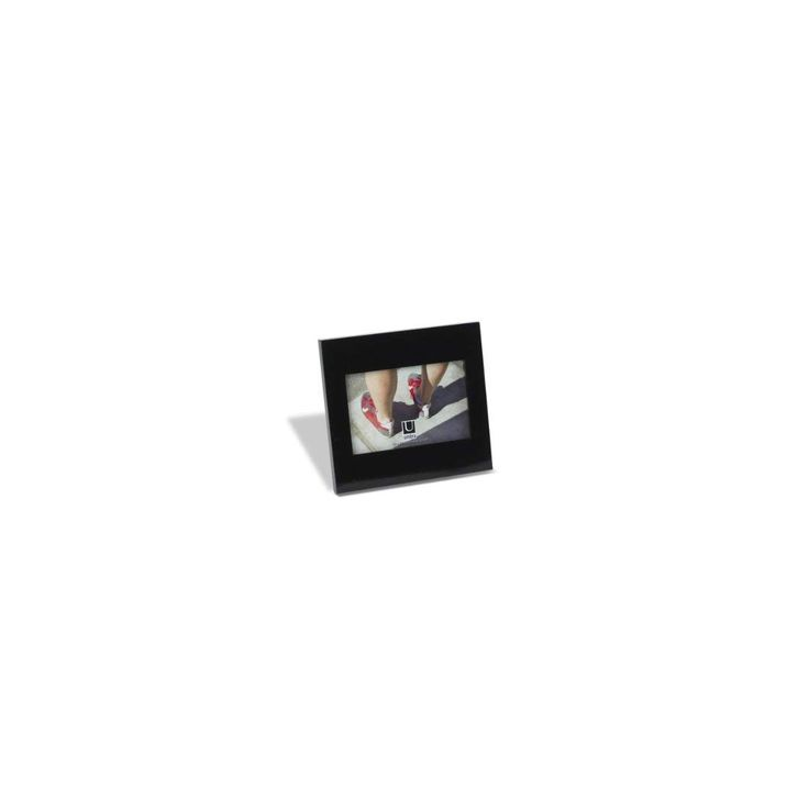 Umbra Simple Picture Frame 4 By 6 Inch Glossy Black