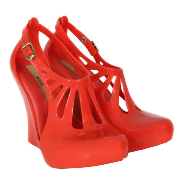 Melissa Cristal Coral Shoes found on Polyvore