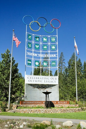 Olympic Valley Olympic Sign