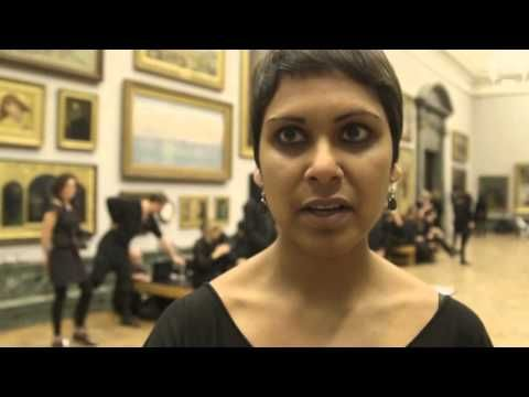 Climate change activists stage tattoo protest against BP at Tate Britain | Art and design | The Guardian