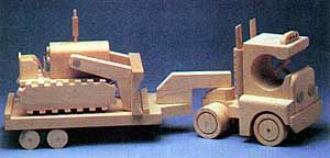 100  Free Wooden Toys Woodworking Patterns