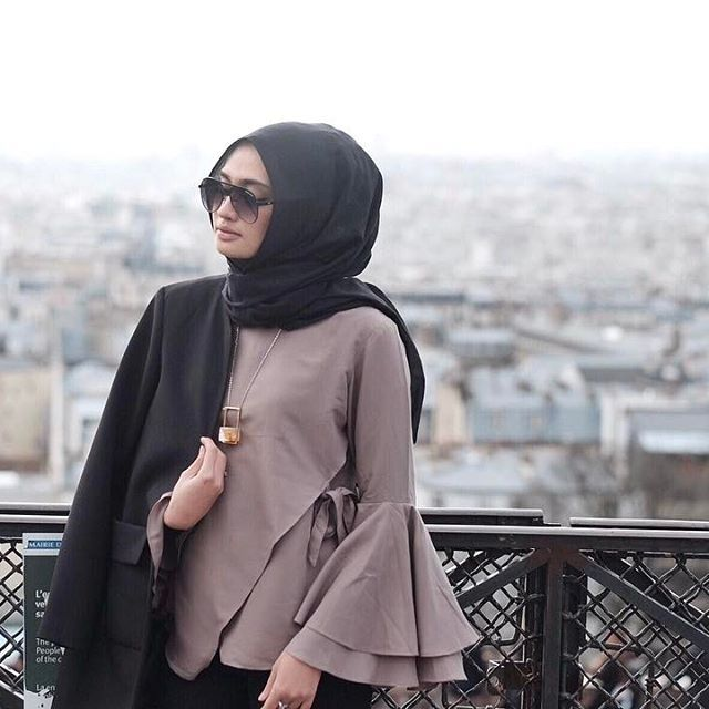 my another fav bell sleeves top ❤ @tr_bytresnapuri