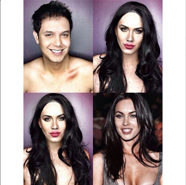 Celebrity Makeup Transformations : celebrity makeup transformation