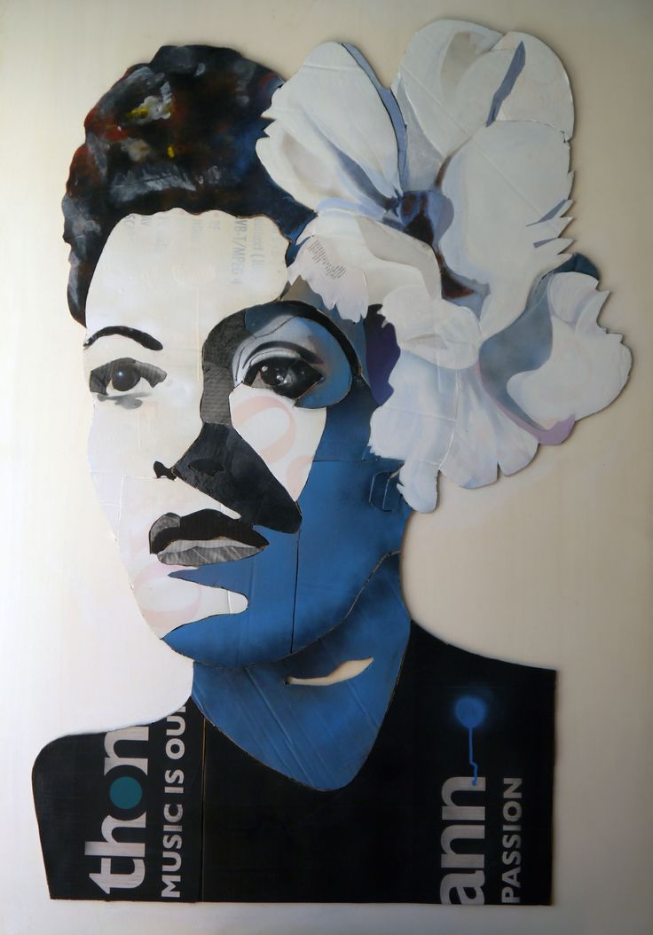 Billie Holiday Work by Luigi De Simone
