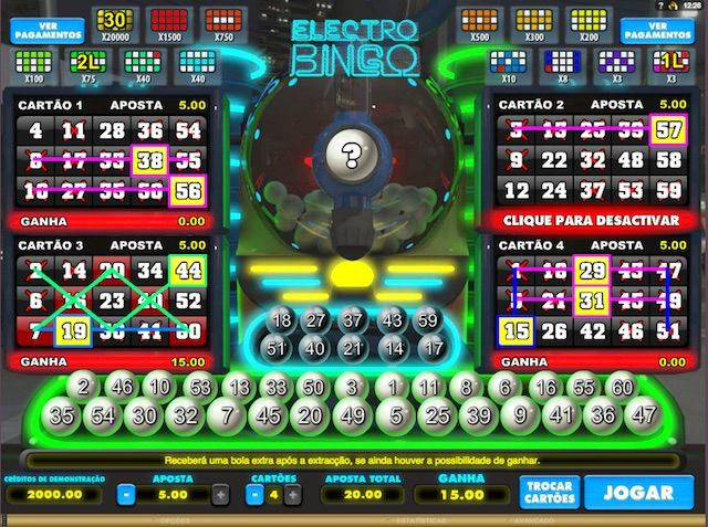 Jogar electro bingo gratis