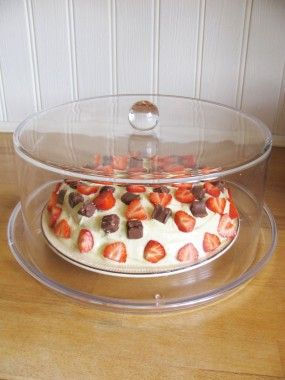 Large Cake Dome And Base