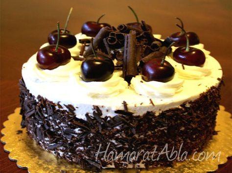 ✿ ❤ ♨ Karaorman Pastası tarifi - Hazır pasta tabanı ve krem şanti ile yapılabilecek süper kolay bir yaş pasta.